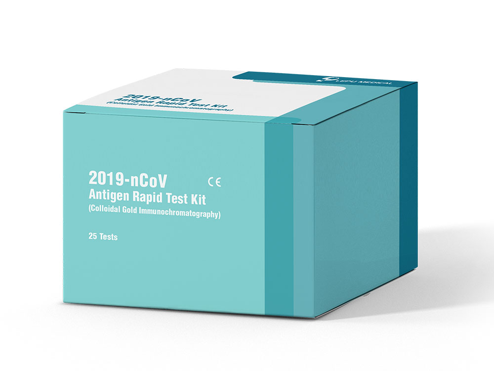SARS-CoV-2 Antigen Rapid Test Kit (Colloidal Gold Immunochromatography)