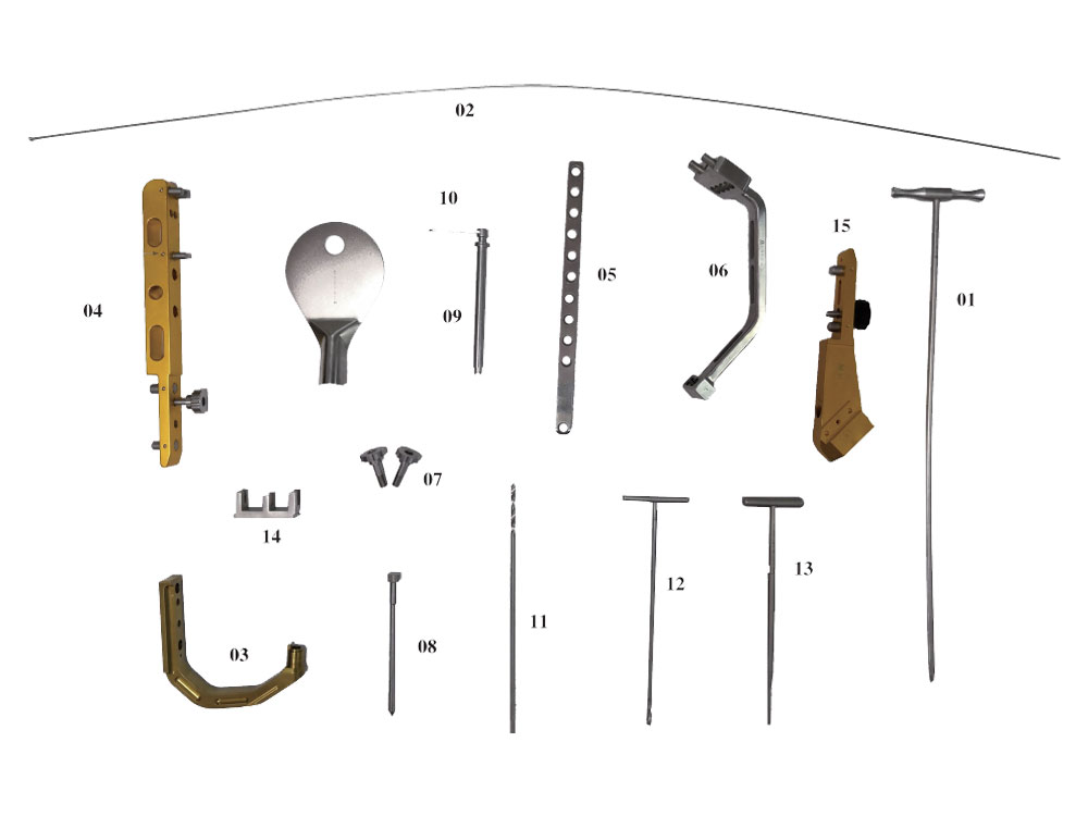 Instrument Set for Femoral Reconstruction Interlocking Nail (Long PFNA)