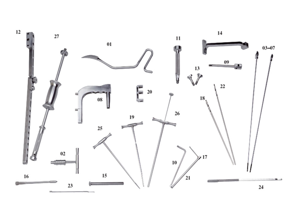 Instrument Set for Tibial Interlocking Nail