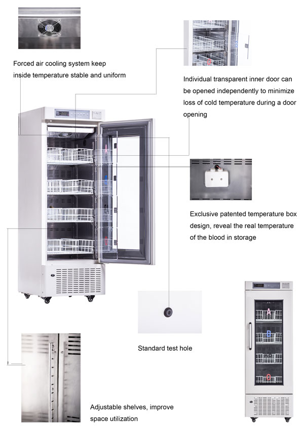 Blood Bank Refrigerator MBC-4V208