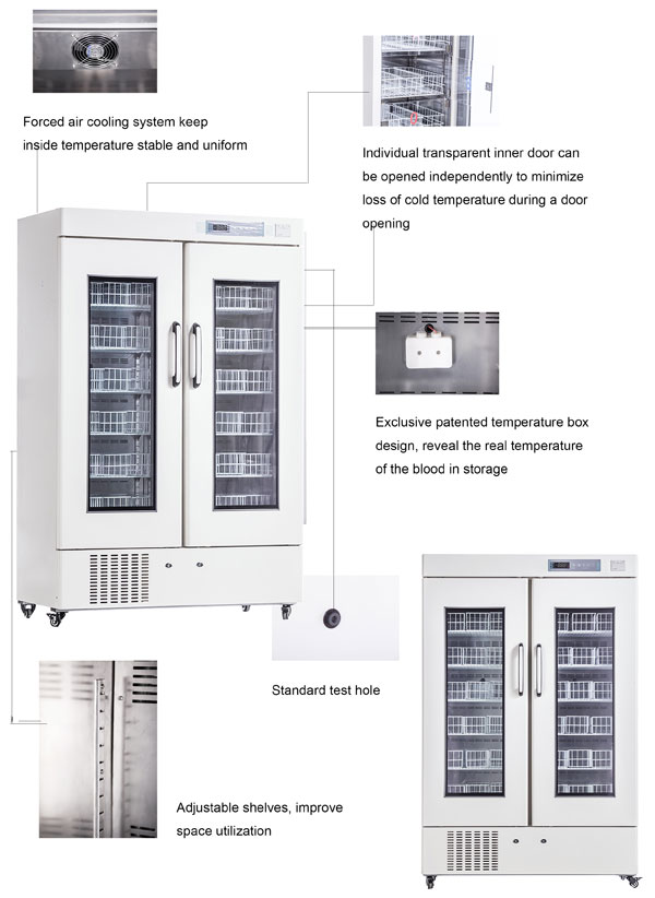 Blood Bank Refrigerator MBC-4V658
