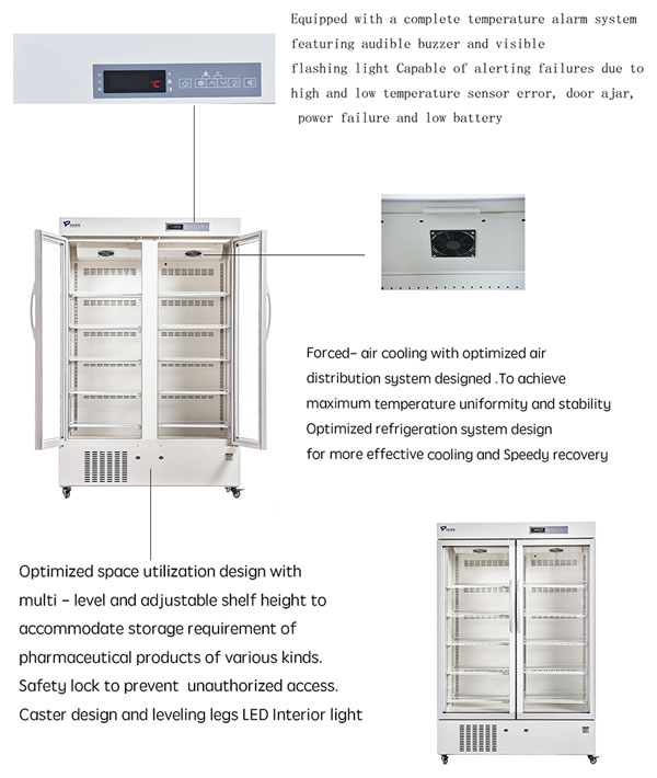 Pharmacy Refrigerator MPC-5V1006